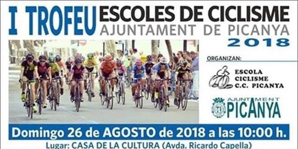 Este diumenge 26 d'agost 1r Trofeu d'Escoles de Ciclisme
