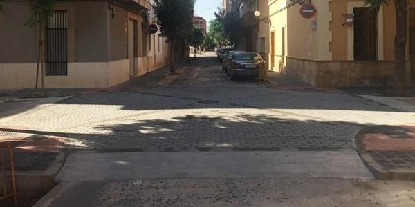 Completades les obres dels carrers Verge del Carme i Vicent Serrador