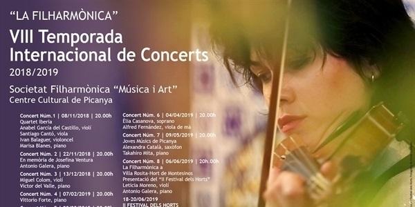 """Arriba la VIII temporada de concerts de """"la Filharmònica"""""""