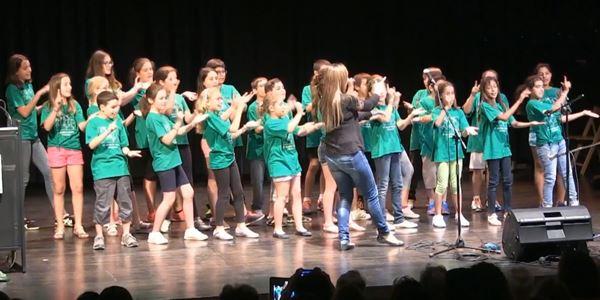 Homenatge Al Tall - Cor de l'escola Ausiàs March