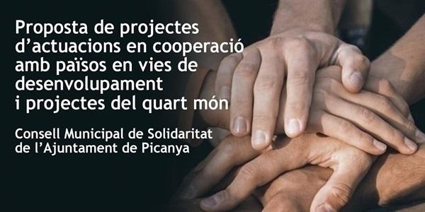 Obert el termini per a la presentació de projectes solidaris