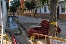 Obres de renovació dels carrers Torrent i Sant Pasqual