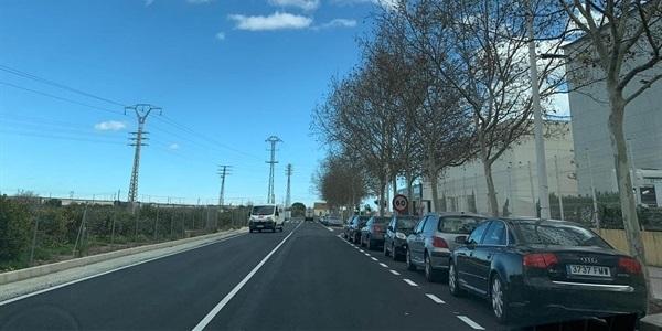 Ampliació de la zona d'aparcament al polígon de Faitanar