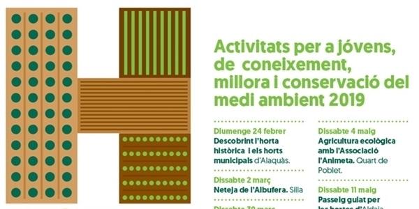 Nova programació d'activitats per a jóvens: coneixement, millora i conservació del medi ambient