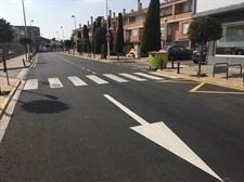 Obres d'asfaltat a diferents carrers