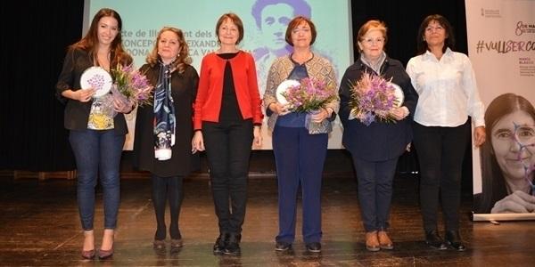 1a edició dels Premis Concepción Aleixandre per a dones científiques