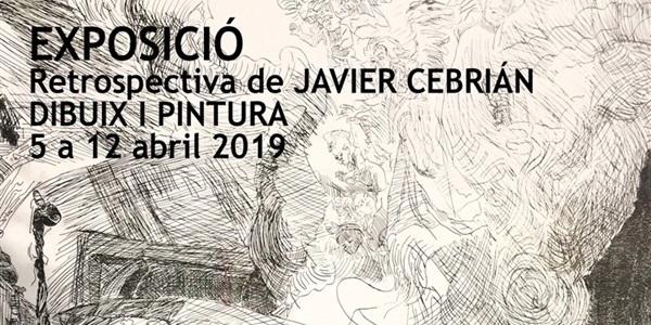Exposició retrospectiva de Javier Cebrián