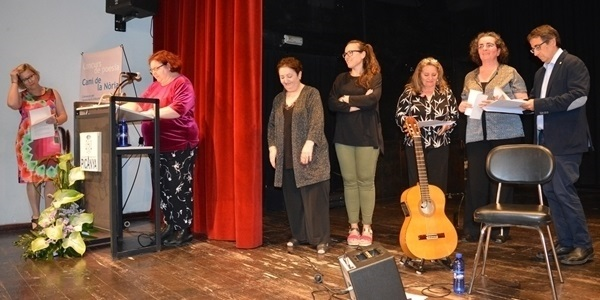 Acte de lliurament del Premi Camí de la Nòria 2019