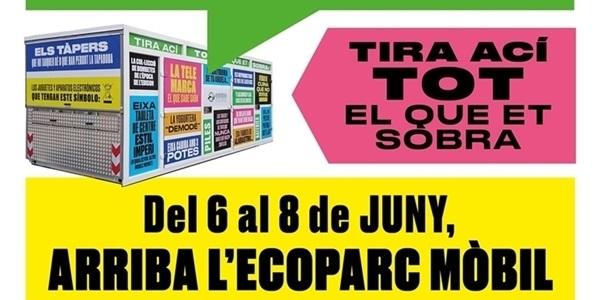 Eco-Parc mòbil des de demà a l'Av. Sta. Maria del Puig