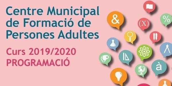 El Centre Municipal de Formació de Persones Adultes presenta l'oferta del nou curs