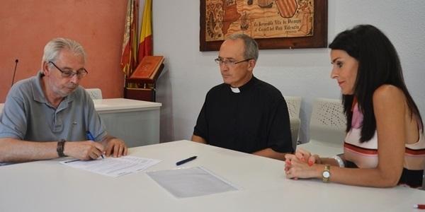 Renovació del converni entre Caritas i l'Ajuntament de Picanya