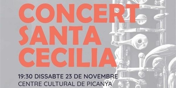 Concert de Santa Cecília a càrrec de la Unió Musical de Picanya