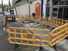 Renovació de voreres del carrer Mercat