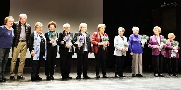"""Les """"Tyrius"""" reten homenatge a les dones de més edat"""