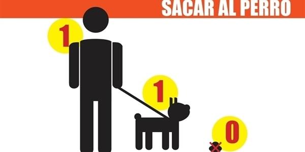Una persona, un gos, zero excrements