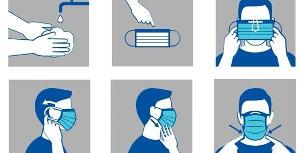 Normes bàsiques per a la utilització de mascaretes