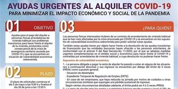 Ajudes urgents al lloguer d'habitatge de la Generalitat Valenciana