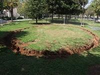 Instal·lació de paviment de seguretat sota els Jocs Infantils dels parcs municipals 12
