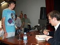 Santiago Posteguillo al Maig Literari 2012 P5230106