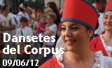 Dansetes del Corpus 2012